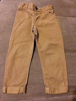 Boys Tan/brown Pants Age 2-3 From George