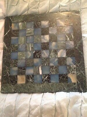 Marble Chess Board 40cm Square