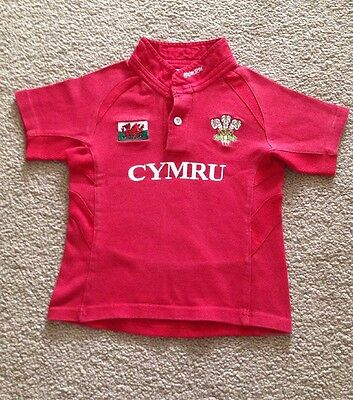 Boys WALES top Size-4years In Exc Condition
