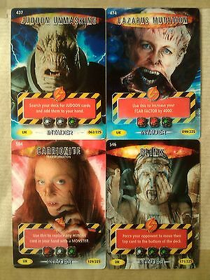 Doctor Who Battles in Time Invaders Ultra Rare 474 Lazarus Mutation BBC 2006