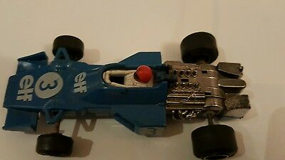 Scalextric F1 Grand Prix Car Elf Tyrrell C121 1976 Working