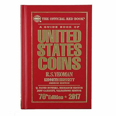 2017 Red Book Price Guide, 70th Edition, Hardbound, In Stock & Shipping NOW