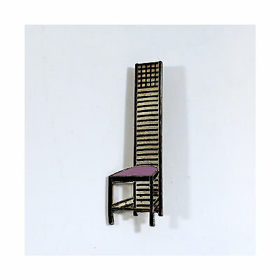 """Vintage Charles Rennie Mackintosh """"Hill House"""" Chair Brooch from ACME Studio NEW"""
