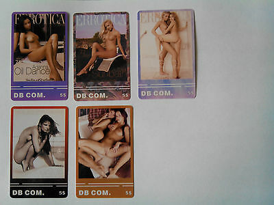 Sexy phone cards