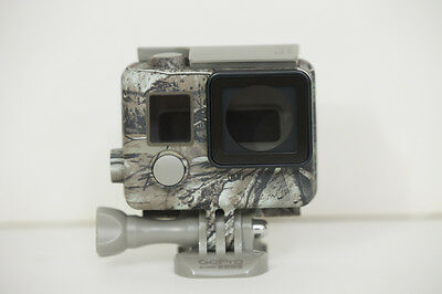 GoPro Camo Housing + QuickClip (Realtree Xtra) for GoPro HERO4,3+,3