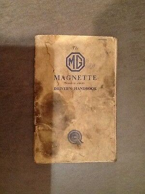 The MG MAGNETTE, Drivers handbook
