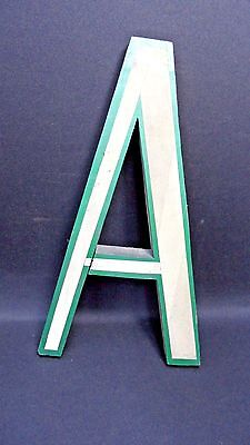 Vintage Letter A Made Of Wood fro a sign