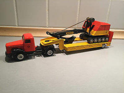 Tekno Denmark 860 and 861 Scania Vabis Transporter and Excavator