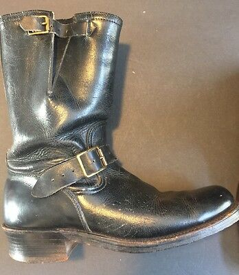Buco Engineer Boots: Original Vintage Rare Buco Motorcycle Boots