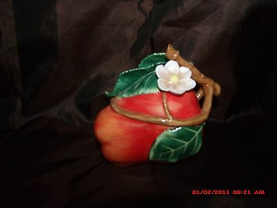 Fitz and Floyd classics RARE Incredible Apple covered dish