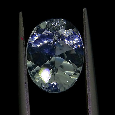 loose Natural aquamarine 1.72ct fancy oval cut 9.2 x 7.2mm  loose gemstones
