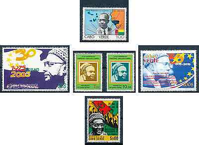 Cabo Verde - 1976 / 1983 / 2005 / 2010  - Amilcar Cabral / Independence - MNH