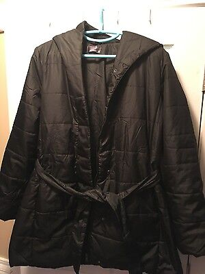 Quilted Puffer Maternity Coat XL OhBaby motherhood