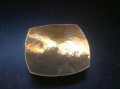 Beaten Copper Trinket Dish, possibly a Arts and Crafts