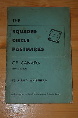 Weeda Literature: Squared Circle Postmarks, Alfred Whitehead Second ed., signed
