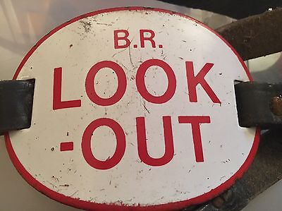 Vintage Br Look-Out Arm Badge