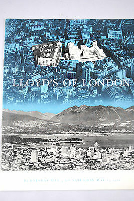 12 Pages LLOYD'S OF LONDON Souvenir Leaflet from 1961 Trade Fair in CANADA
