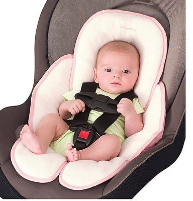 Summer Infant Snuzzler Head And Body Support In Pink Machine Washable Cotton