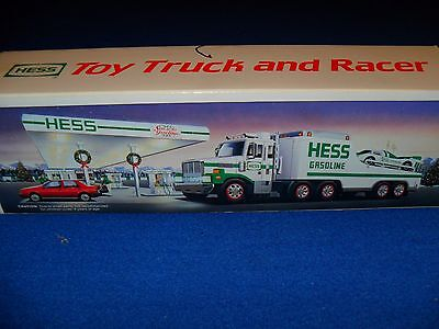 1988 Hess Toy Truck And Friction Racer