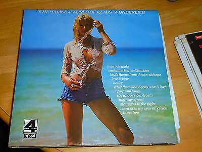 Lp/ Klaus Wunderlich / The Phase 4 World Of..(1969 Uk Decca Phase 4 Stereo