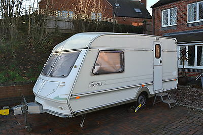 1993 Abi jubilee equerry  full awning , 2 berth caravan , end bathroom ,+ extra