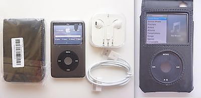 iPod Classic 7th Gen 160gb + NEW earphones + NEW case + FREE post + TRACKING!