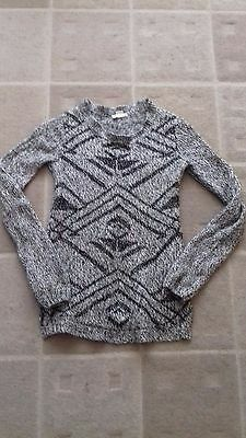 H&M Mama grey and black maternity jumper size S (8/10)