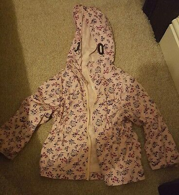 Girls hooded coat from pep&co good condition age 2 to 3