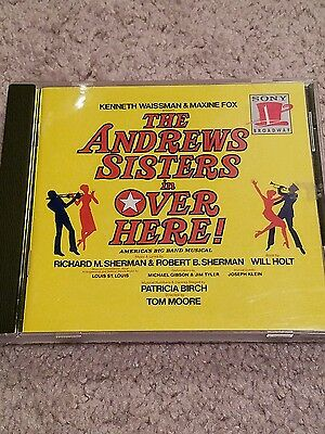 Over Here! Broadway cast cd the Andrew Sisters