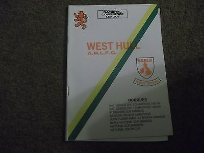 West Hull V Chorley Borough National Conference League 1St October 1994