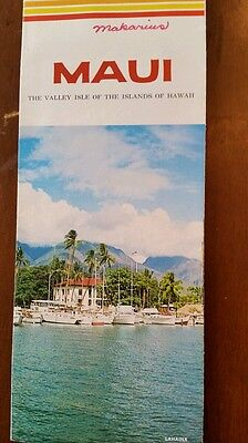 1975 Maui  Hawaii Brochure
