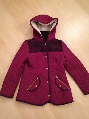 Girls Coat From George Age 8-9