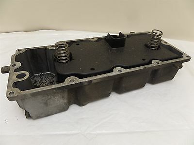 Harley Touring Road Kign & Electra Glide Silver Oil Pan Tray 62711-99 w/ Baffle