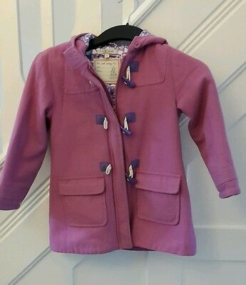 Marks and Spencer Girls Pink Duffel Coat Age 4-5