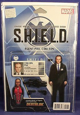Marvel SHIELD Mockingbird Agent Phil Coulson Action Figure Comic Cover Variant