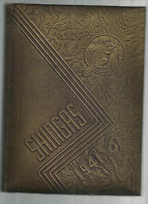 1941 Beaver Shingas High School Yearbook Excellent