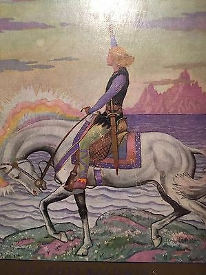 Beautifully Illustrated Art Nouveau /Art Deco Book - The Story Of Siegfried