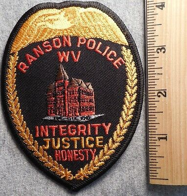 Ranson West Virginia Police Patch (Highway Patrol, Sheriff, Ems)