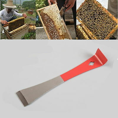 Beekeeping Tool J Shape J-type Bee Hive Hook Stainless Steel Scraper Equip