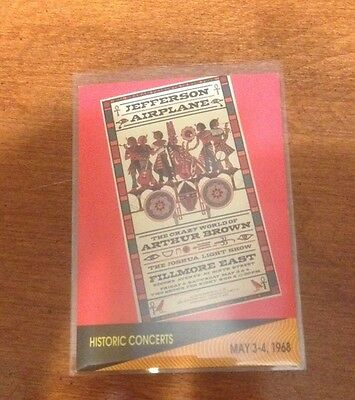 Jefferson Airplane 1991 Pro Set Musicards #259 - May 3-4/1968 Trading Card NRMT
