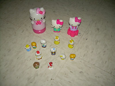 14 pc Lot of Hello Kitty Assorted toys