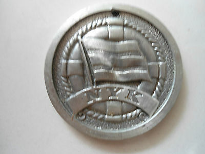 Medalion style commemorative casting from NYK shipping line Reduced start price!