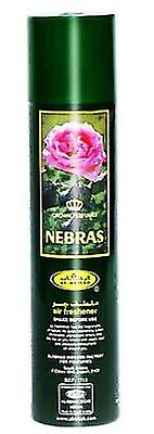 Nebras Air Freshner  Fragrabces Spray Perfume 300 ML by Al Rehab