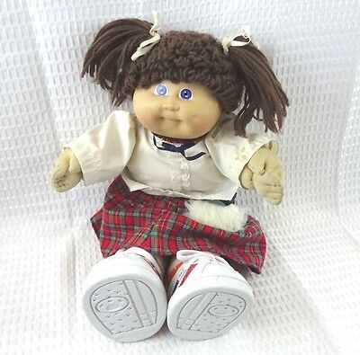 1985 Xavier Roberts Cabbage Patch Doll and Accessories