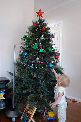 182 cm Christmas Cashmere Pine Tree (just tree not a star etc.)