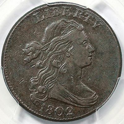 1802 S-238 R-4 PCGS VF 35 CC level Draped Bust Large Cent Coin 1c