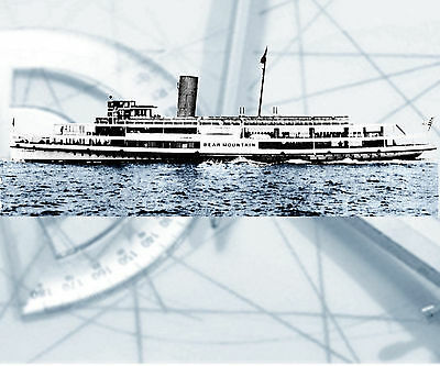 """Model Boat PLANS 42"""" Excursion paddle steamer R/C F/S Printed Plan & Build Notes"""