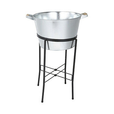 Ice Bucket 20L Drinks Tub Cooler on Stand Champagne Wine Beer Party