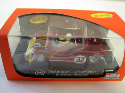 Slot It Sica11H Alfa Romeo 33/3 Sebring 1971 #32  New Mint Boxed