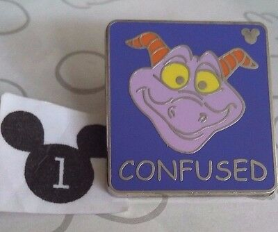 Confused Figment Hidden Mickey Series 3 WDW Dragon Disney Pin Buy 2 Save $